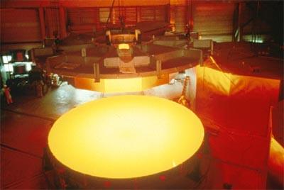 Mirror of Very Large Telescope