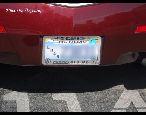 内华达州的老式牌照只是蓝底白字,式样朴素,现在亦可办理,只是需高清图片