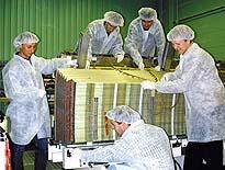 ATLAS电磁量能器套筒部分第一个由CERN建造的模块