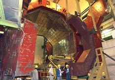 修整ALICE实验设备的L3磁体门