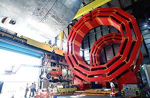 CMS磁体的箍环