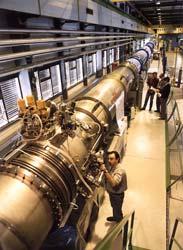 测试台上的LHC线路原型